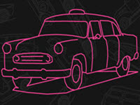 Doodle History 3D Car