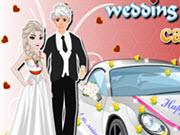 Elsa Wedding Car Decoration